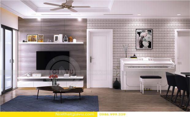 Thiết kế nội thất chung cư Gardenia tòa A1 – Call 0986999339