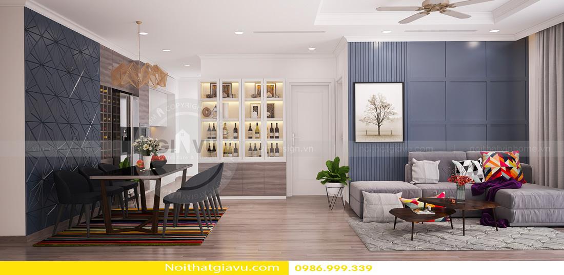 thiết kế nội thất chung cư Gardenia A1 0986999339 05