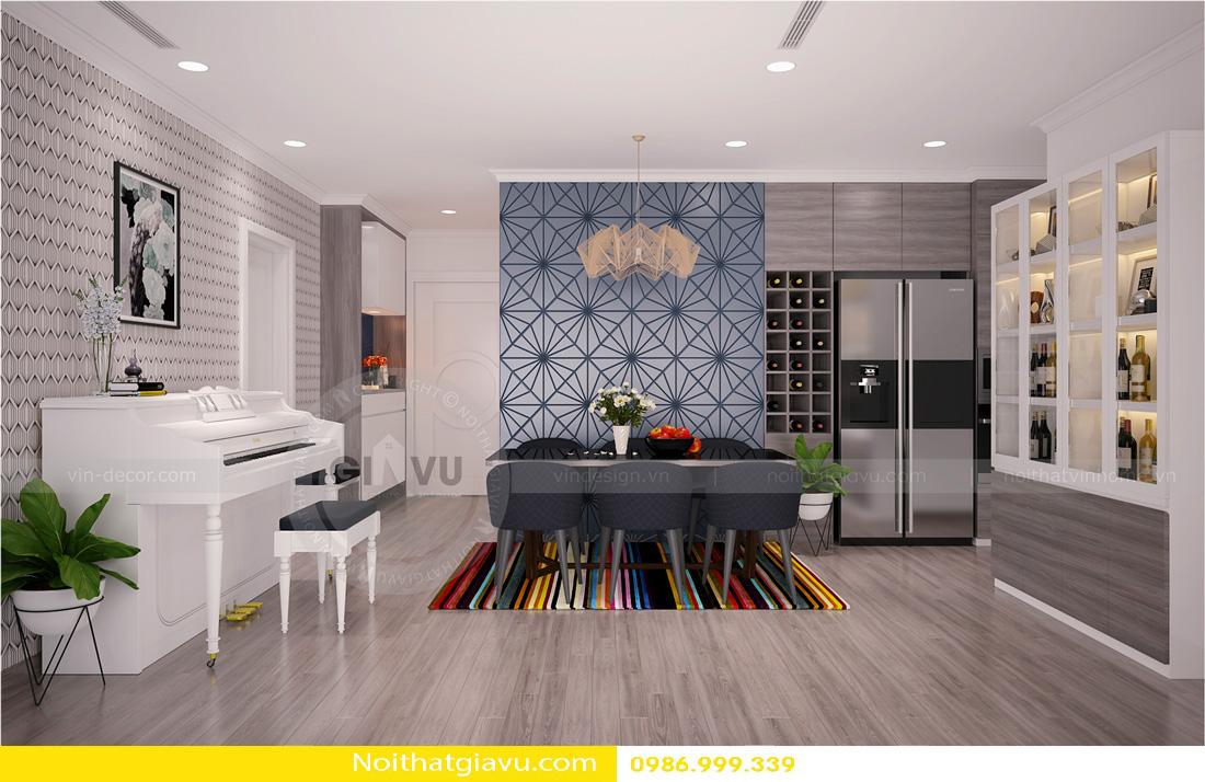 thiết kế nội thất chung cư Gardenia A1 0986999339 08