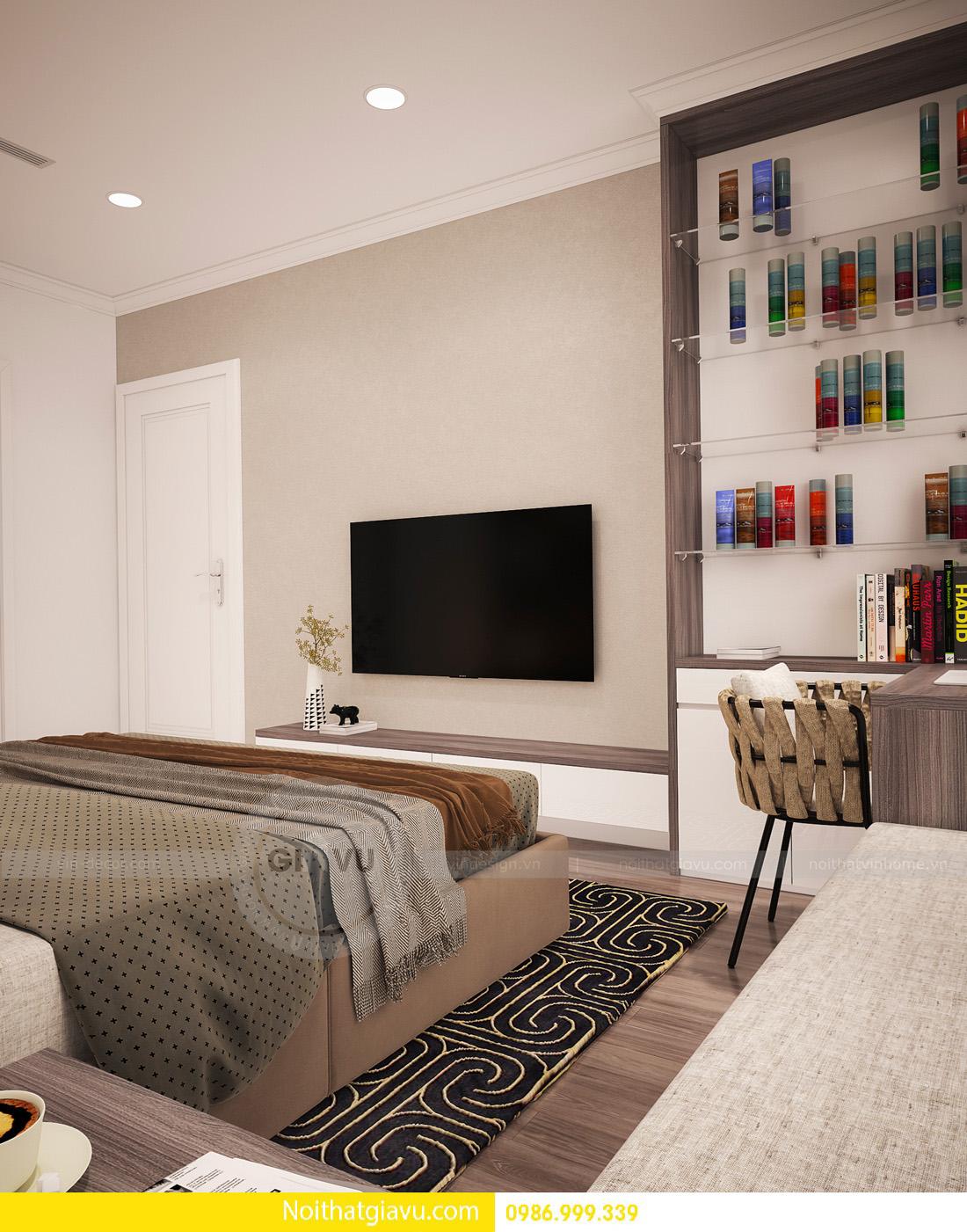 thiết kế nội thất chung cư Gardenia A1 0986999339 11