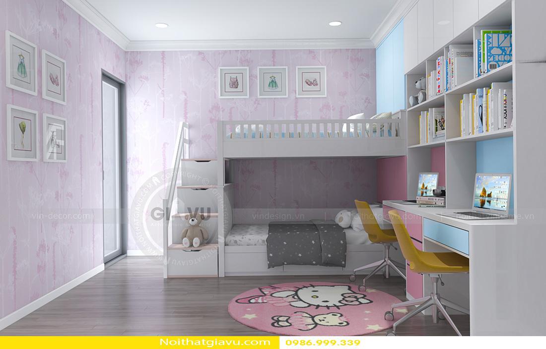 thiết kế nội thất chung cư Gardenia A1 0986999339 13