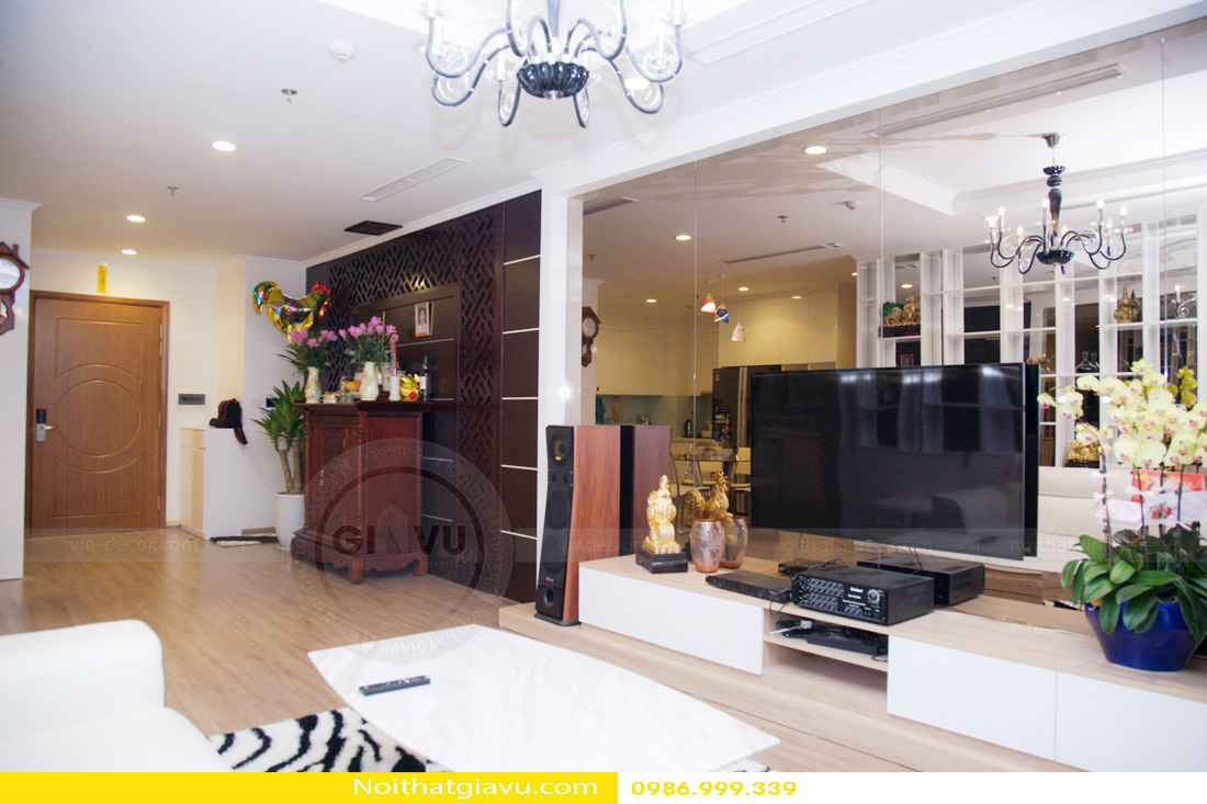 thiết kế nội thất chung cư Gardenia A2 0986999339 03