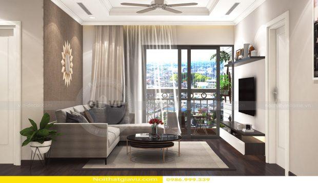 Thiết kế nội thất chung cư Gardenia tòa A3 – Call 0986999339