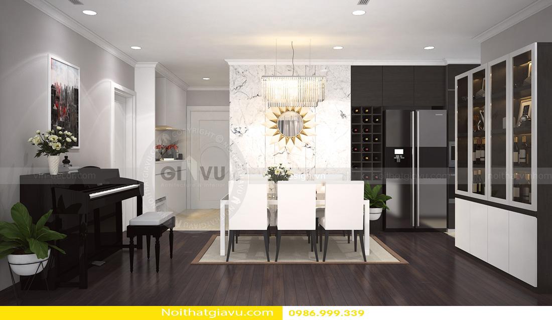 thiết kế nội thất chung cư Gardenia A3 0986999339 02
