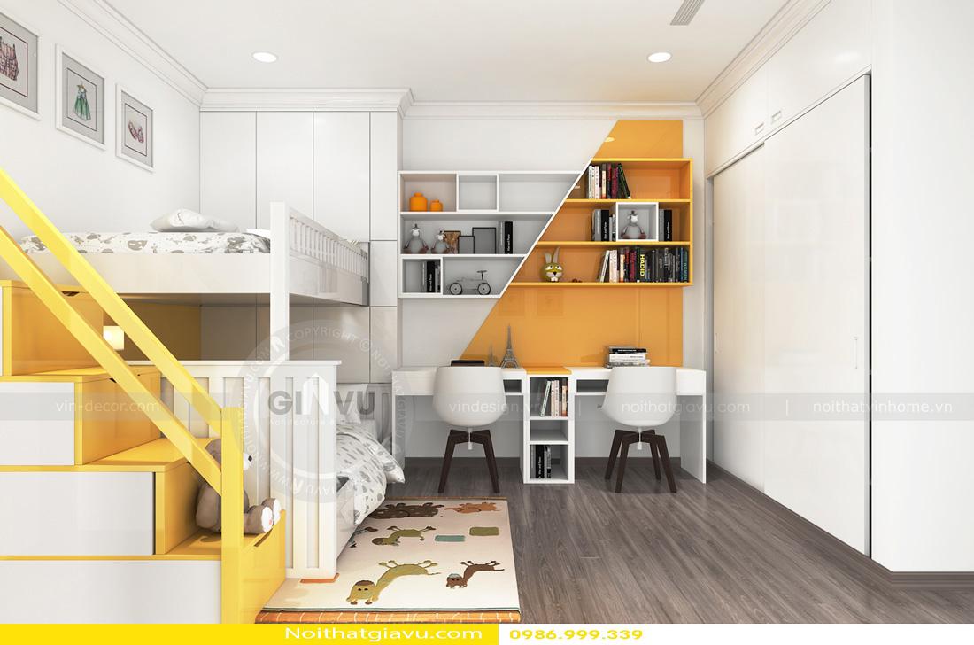thiết kế nội thất chung cư Gardenia A3 0986999339 09