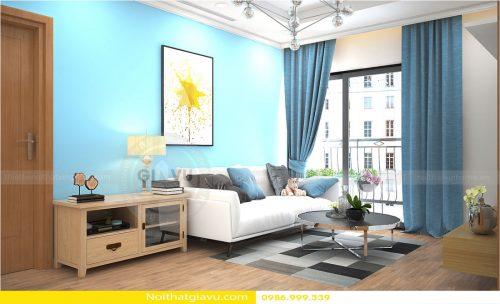 Thiết kế nội thất chung cư Gardenia hoàn thiện chỉ với 200 triệu