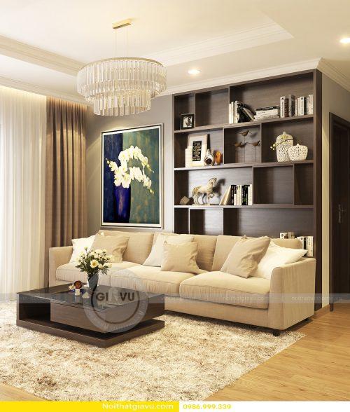Thiết kế nội thất Gardenia căn 2 phòng ngủ – Call 0986999339