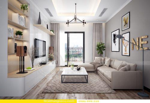 Thiết kế nội thất Gardenia tòa A1 – Call 0986999339