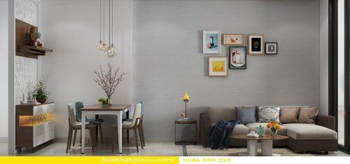 Thiết kế nội thất Gardenia tòa A2 – Call 0986999339