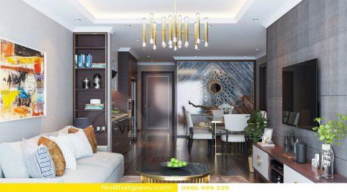 Thiết kế nội thất Gardenia tòa A3 – Call 0986999339