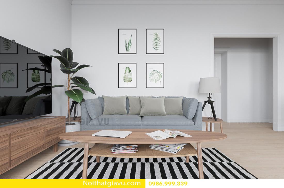 thiết kế nội thất Gardenia hiện đại 01