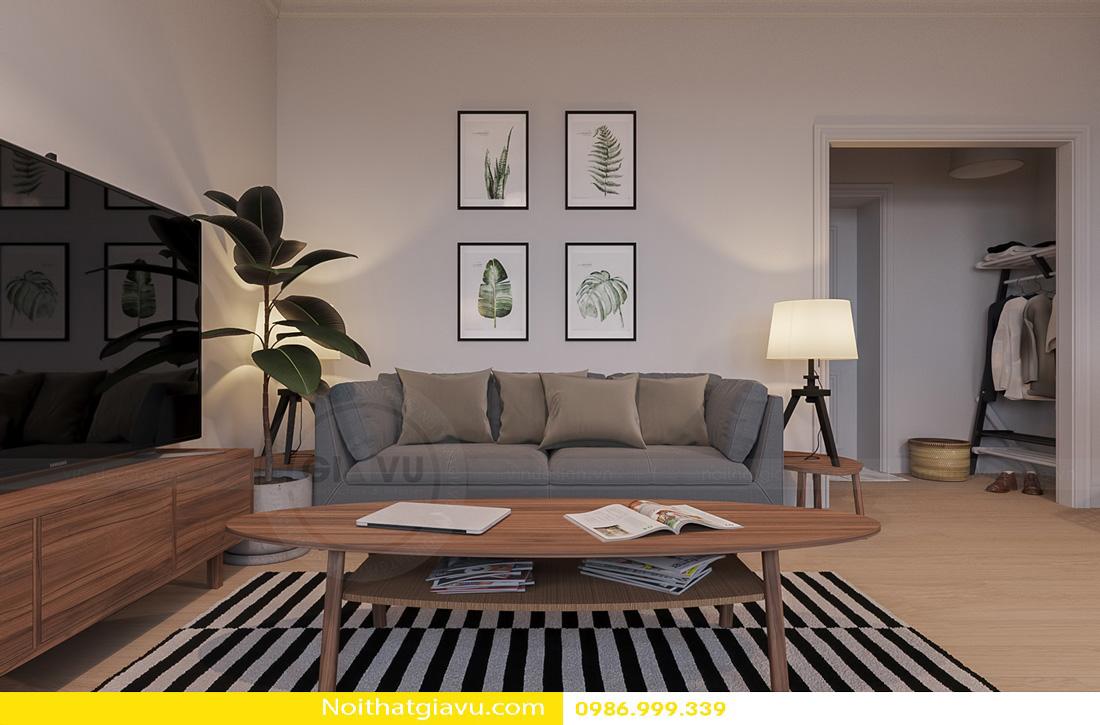 thiết kế nội thất Gardenia hiện đại 02