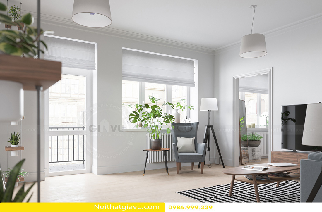 thiết kế nội thất Gardenia hiện đại 04