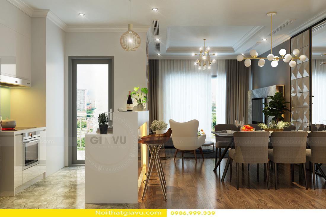 thiết kế nội thất Vinhomes Gardenia 3 phòng ngủ 05