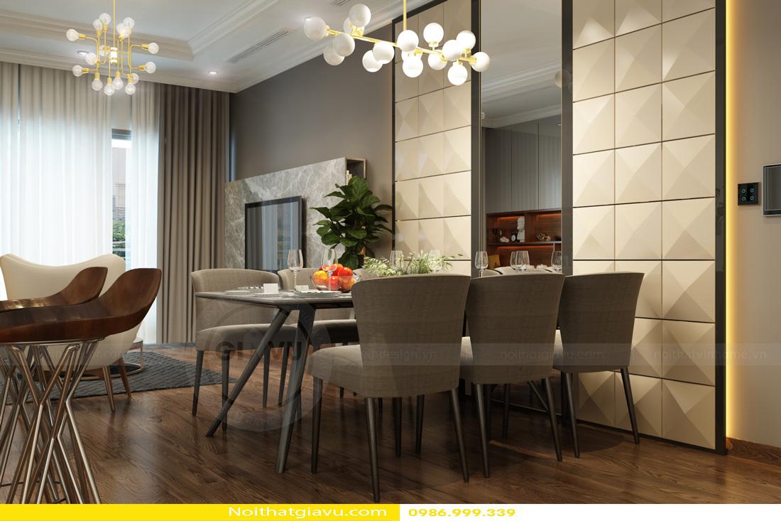 thiết kế nội thất Vinhomes Gardenia 3 phòng ngủ 06