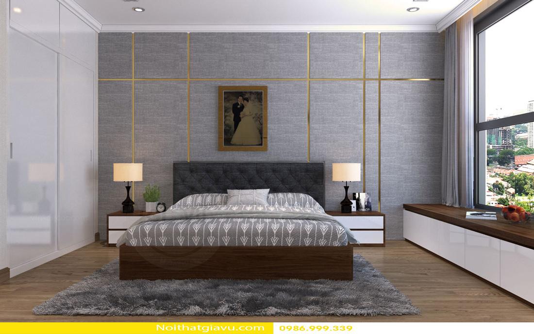 thiết kế nội thất Vinhomes Gardenia 3 phòng ngủ 07
