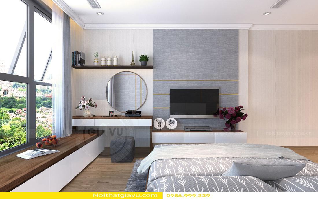 thiết kế nội thất Vinhomes Gardenia 3 phòng ngủ 08