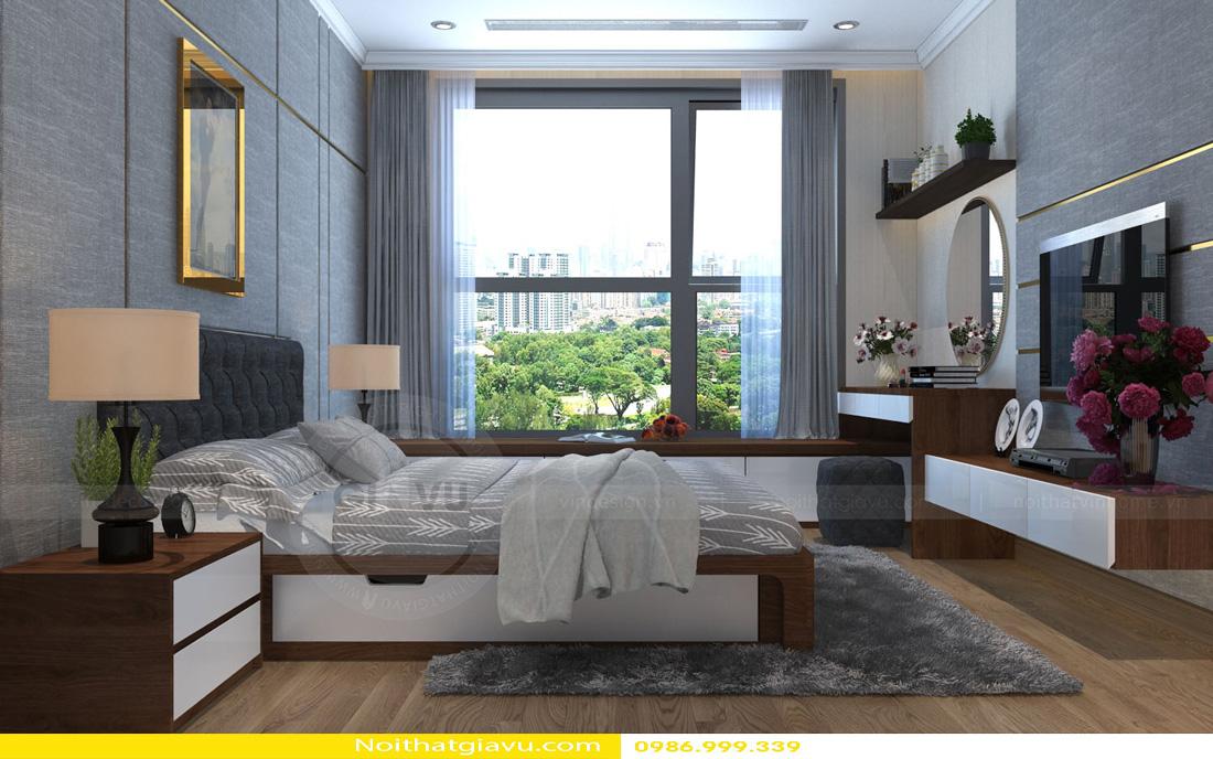 thiết kế nội thất Vinhomes Gardenia 3 phòng ngủ 09