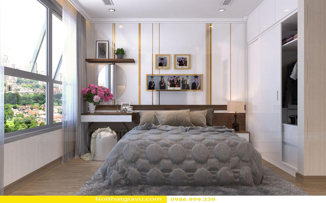 thiết kế nội thất Vinhomes Gardenia 3 phòng ngủ 11