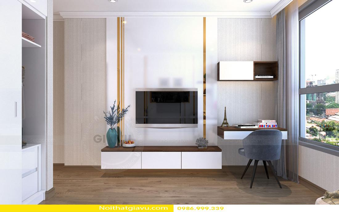 thiết kế nội thất Vinhomes Gardenia 3 phòng ngủ 12