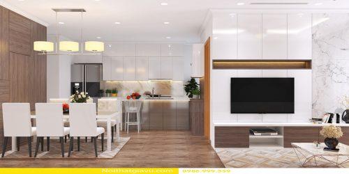 Thiết kế nội thất Vinhomes Gardenia tòa A1 – Call 0986999339