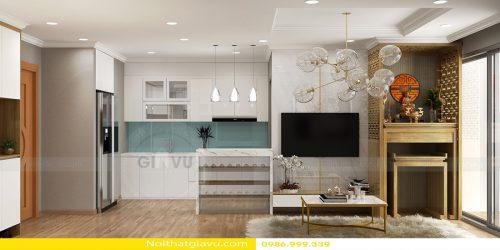Thiết kế nội thất Vinhomes Gardenia tòa A3 – Call 0986999339