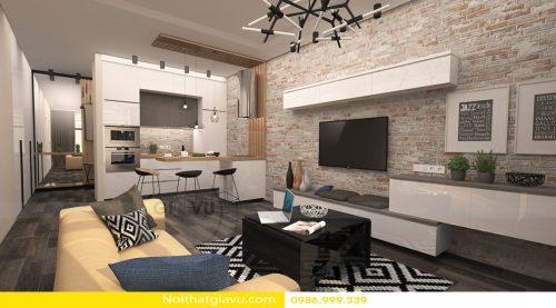 5 mẫu thiết kế nội thất Metropolis với phòng khách rất hiện đại