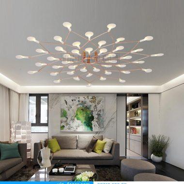 Đèn trang trí nội thất phòng khách-hiện đại sang trọng