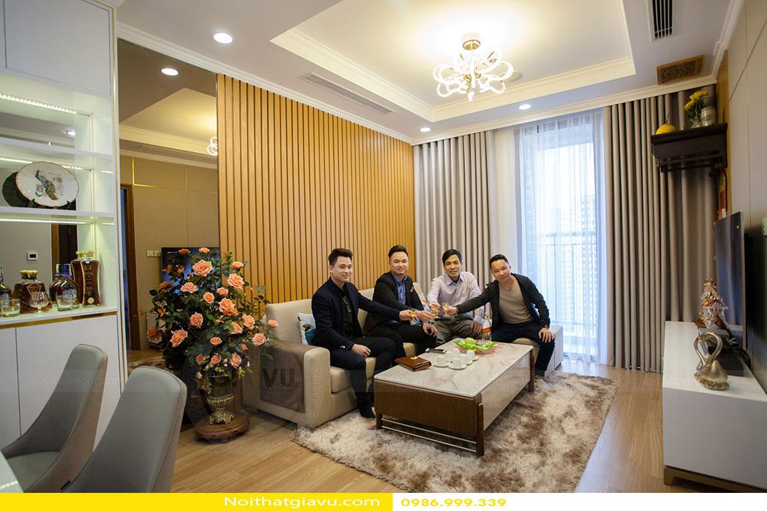 Hoàn thiện nội thất căn hộ Park Hill 1109 nhà anh Khôi 4