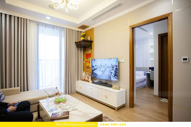 Hoàn thiện nội thất căn hộ Park Hill 1109 nhà anh Khôi