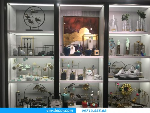 Showroom đồ trang trí – đồ decor hiện đại,độc đáo tại Hà Nội
