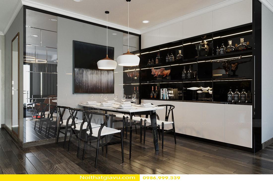 thiết kế nội thất căn hộ Gardenia phong cách hiện đại 04