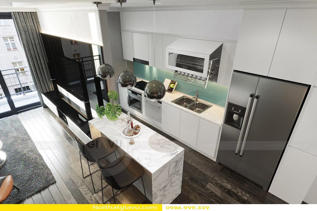 thiết kế nội thất căn hộ Gardenia phong cách hiện đại 05