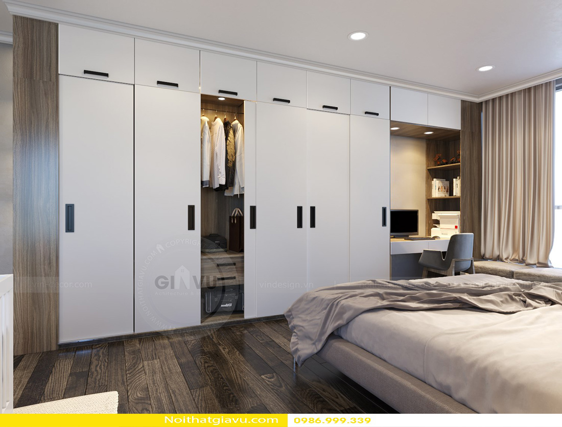 thiết kế nội thất căn hộ Gardenia phong cách hiện đại 08
