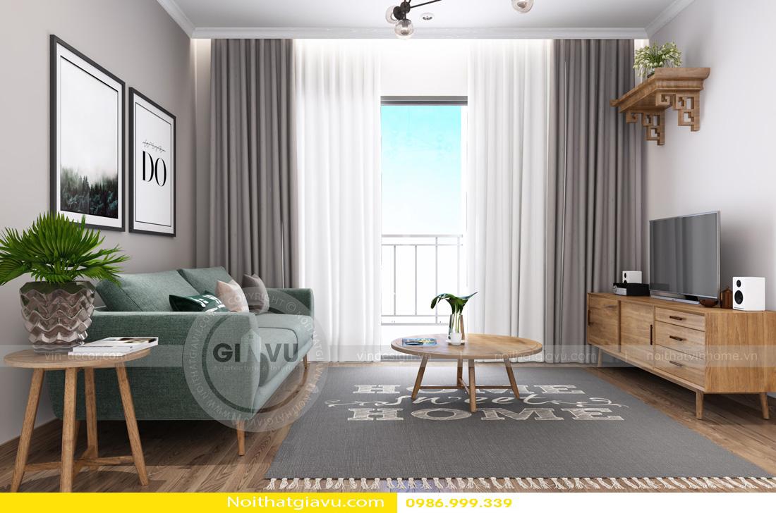 thiết kế nội thất căn hộ gia chủ mệnh hỏa 01