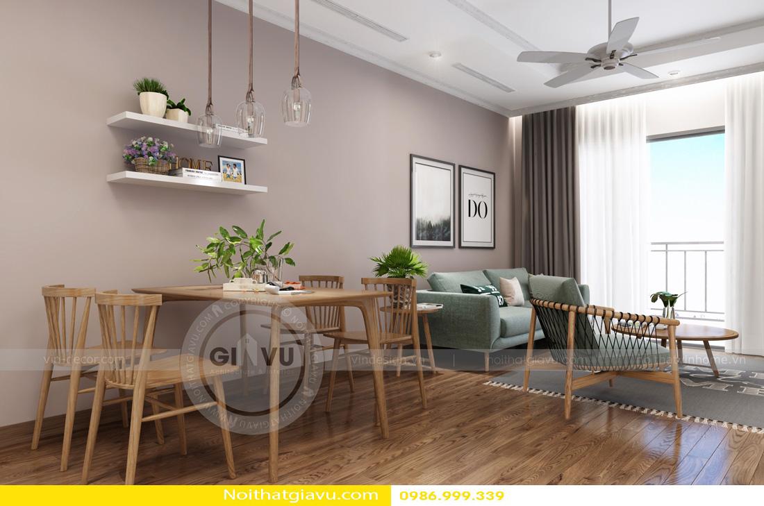 thiết kế nội thất căn hộ gia chủ mệnh hỏa 02