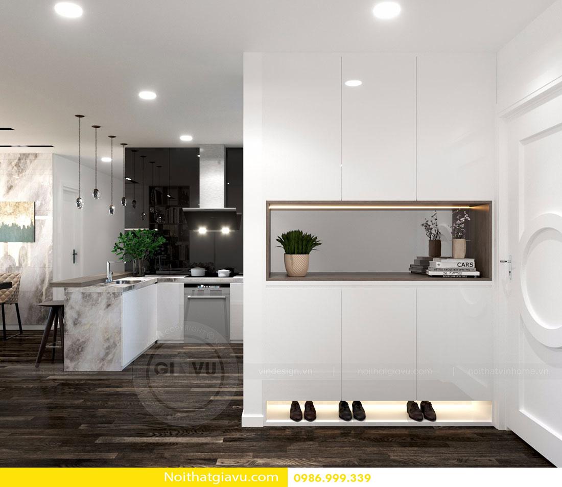 thiết kế nội thất chung cư d'capitale tòa c3 căn 06 001