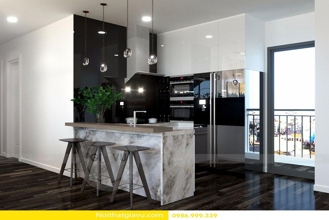 thiết kế nội thất chung cư d'capitale tòa c3 căn 06 002