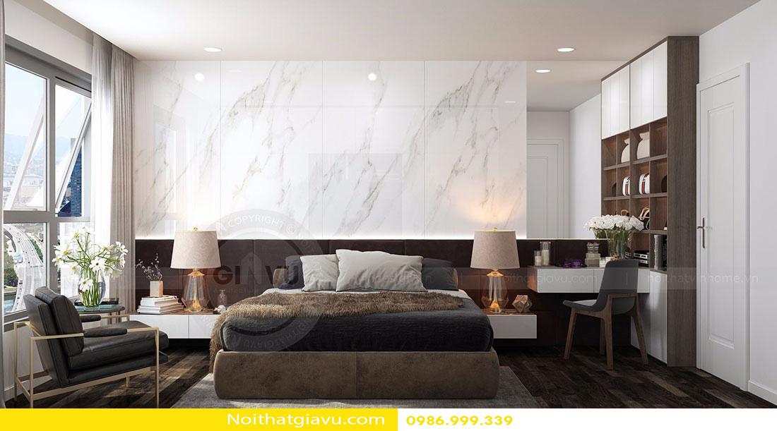 thiết kế nội thất chung cư d'capitale tòa c3 căn 06 007