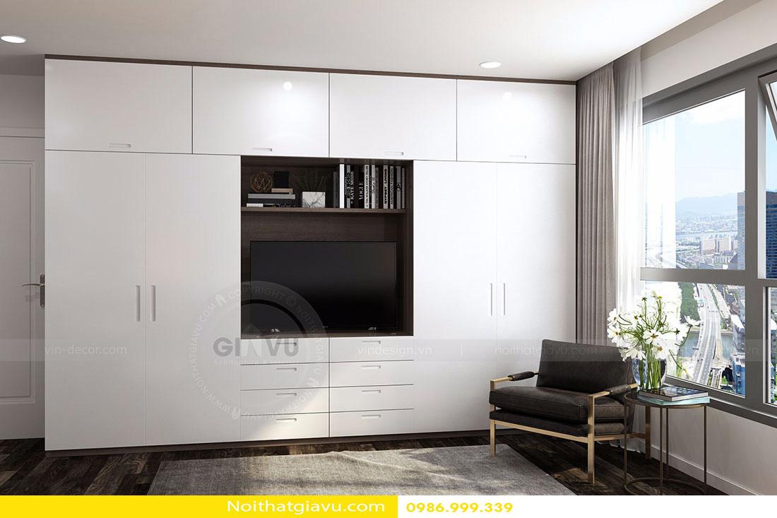 thiết kế nội thất chung cư d'capitale tòa c3 căn 06 008