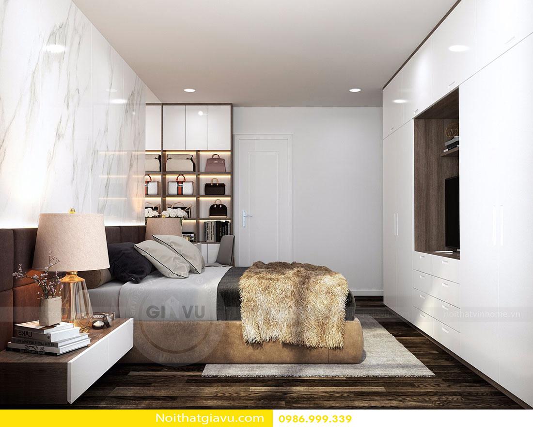 thiết kế nội thất chung cư d'capitale tòa c3 căn 06 009