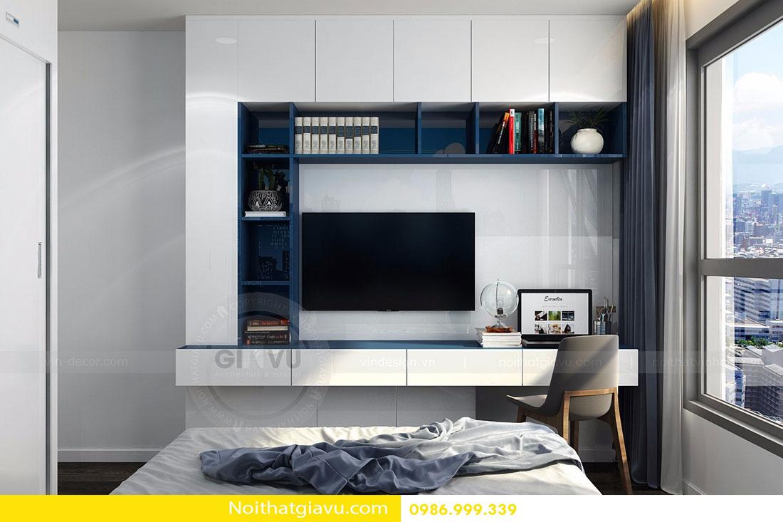 thiết kế nội thất chung cư d'capitale tòa c3 căn 06 014