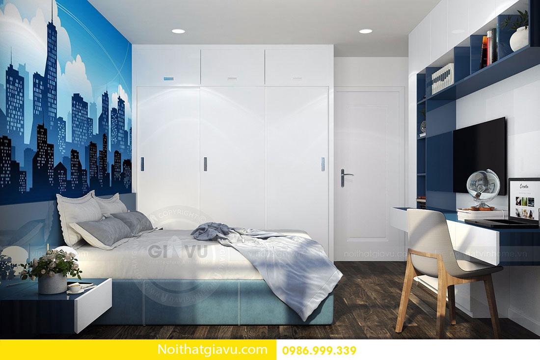 thiết kế nội thất chung cư d'capitale tòa c3 căn 06 015