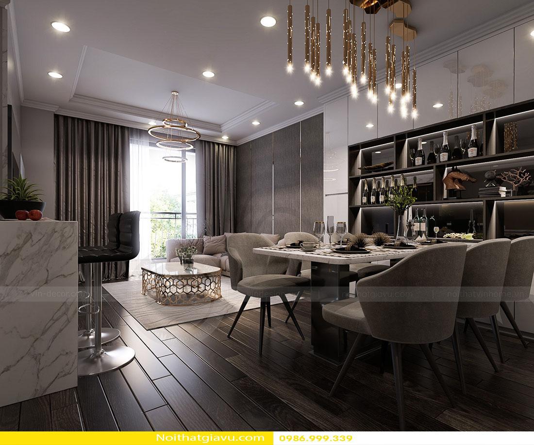 thiết kế nội thất chung cư Gardenia a2 11 04