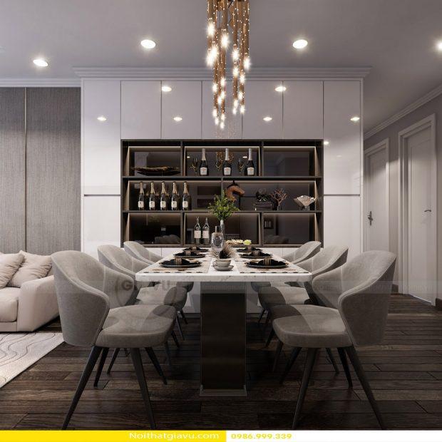 Thiết kế nội thất chung cư Gardenia Tòa A2 căn số 11