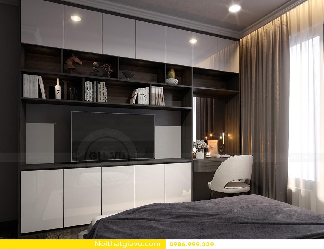 thiết kế nội thất chung cư Gardenia a2 11 08