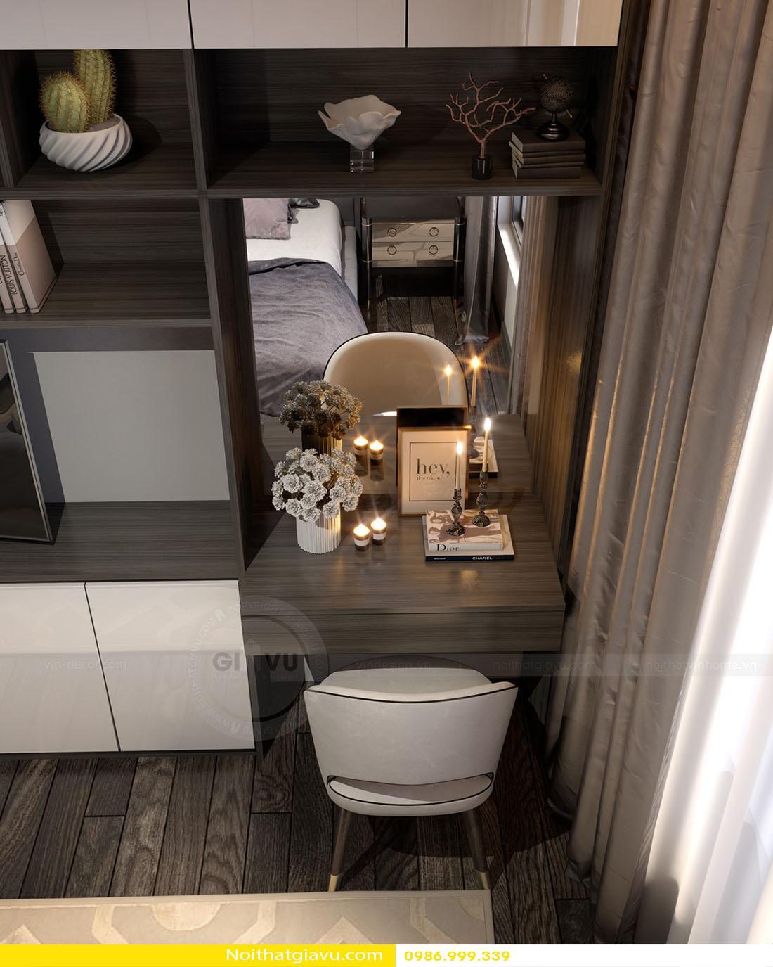 thiết kế nội thất chung cư Gardenia a2 11 09