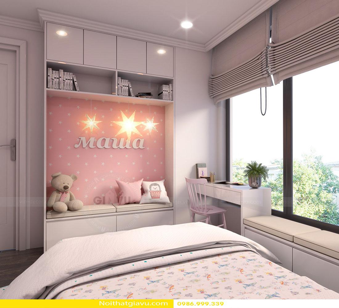 thiết kế nội thất chung cư Gardenia a2 11 10