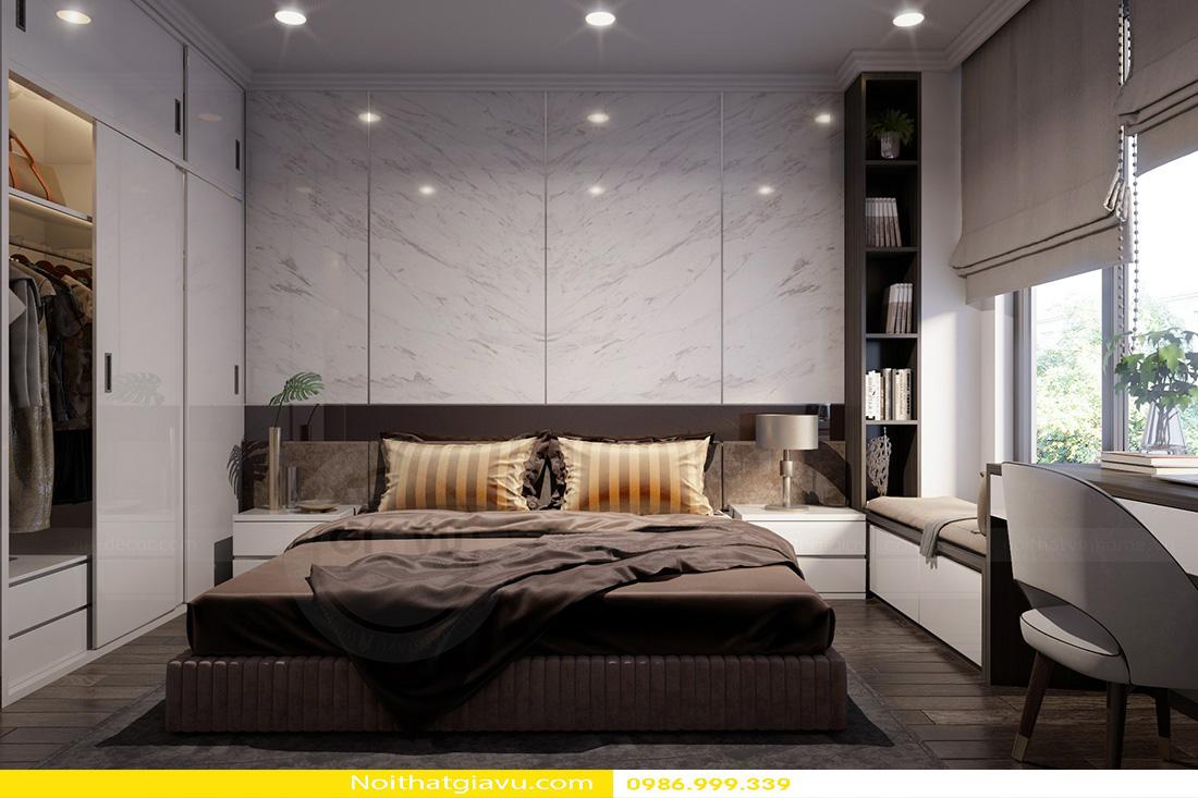 thiết kế nội thất chung cư Gardenia a2 11 13