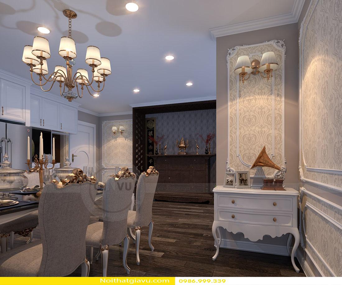 thiết kế nội thất chung cư Gardenia tòa a2 căn 06 05